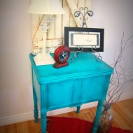 Sewing Table Makeover