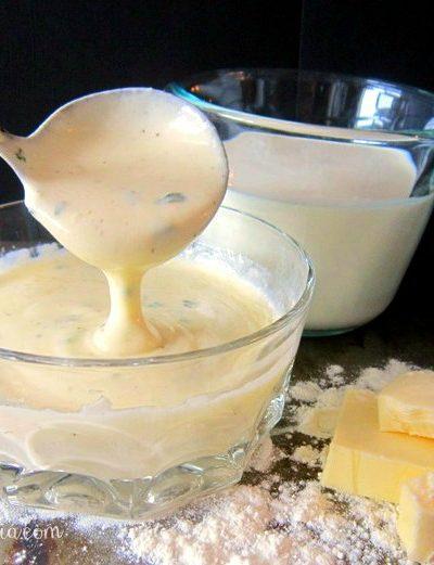 Basic Cream Sauce