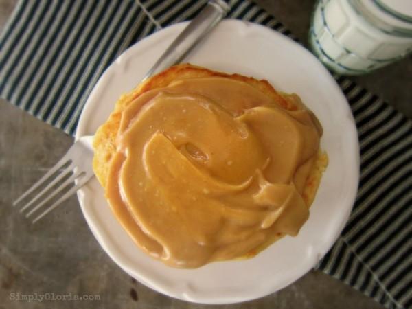 Peanut Butter Buttermilk Pancakes