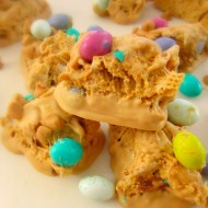 Triple Peanut Butter Chex Bars
