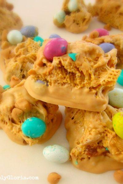 Triple Peanut Butter Chex Bars