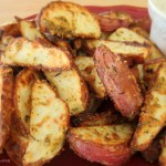 Baked Parmesan Fries SimplyGloria.com  #fries