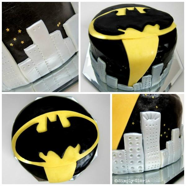 Batman Cake and Party - SimplyGloria.com