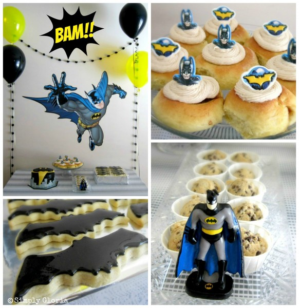 Batman Party - SimplyGloria.com
