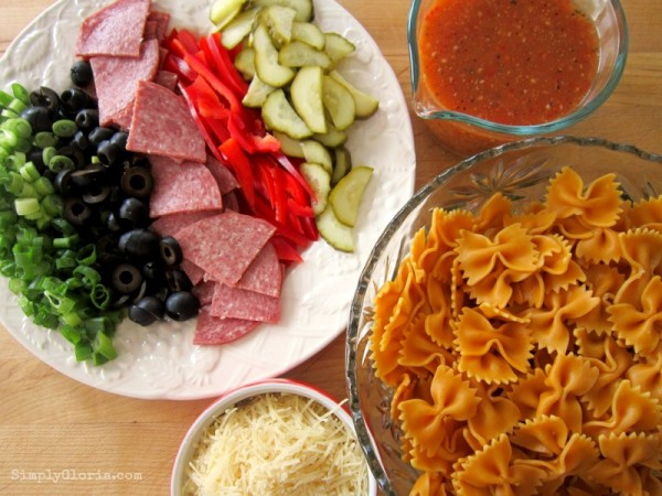 Roasted Red Pepper Pasta Salad1