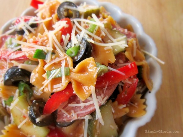 Roasted Red Pepper Pasta Salad2