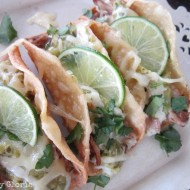Tomatillo Pulled Pork Tacos