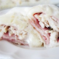 Chicken Cordon Bleu Enchiladas