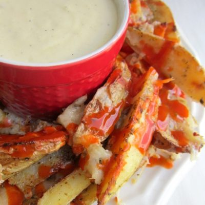 Naughty Fries With Pepper Jack Dipping Sauce
