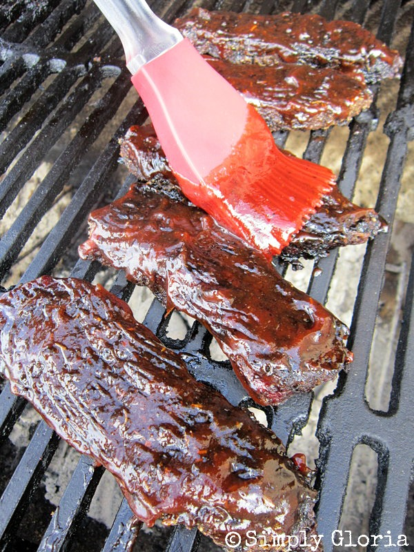 BBQ Grilled Beef Ribs Sandwiches2