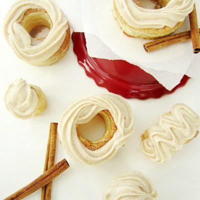 Cinnamon Cream Cheese Pastry Doughnuts