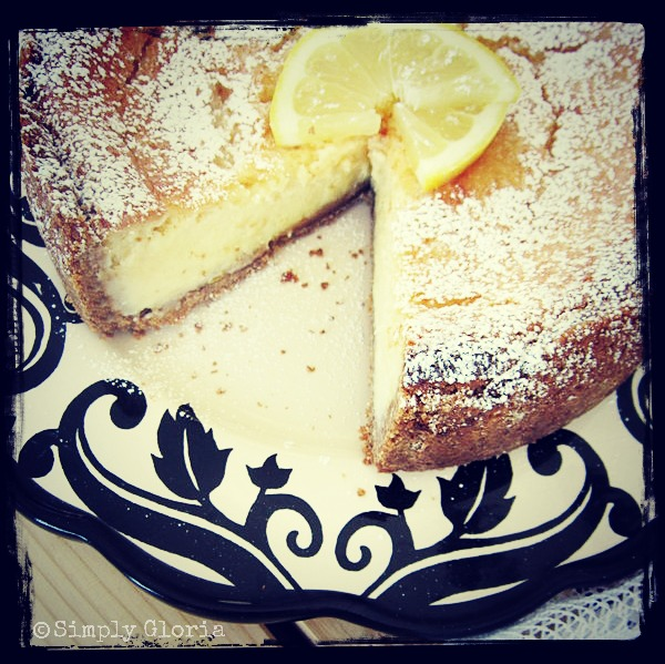 Creamy Lemon Cheesecake - SimplyGloria on Instagram!