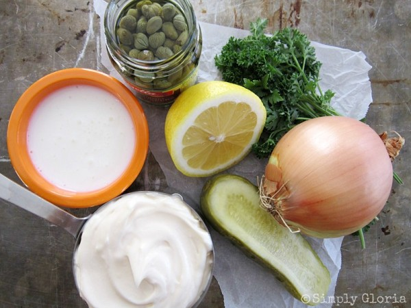 Tartar Sauce Ingredients