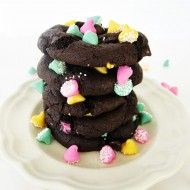 Triple Dark Chocolate Cookies