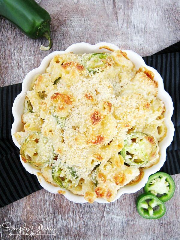 Creamy Havarti Jalapeno Mac & Cheese by SimplyGloria.com
