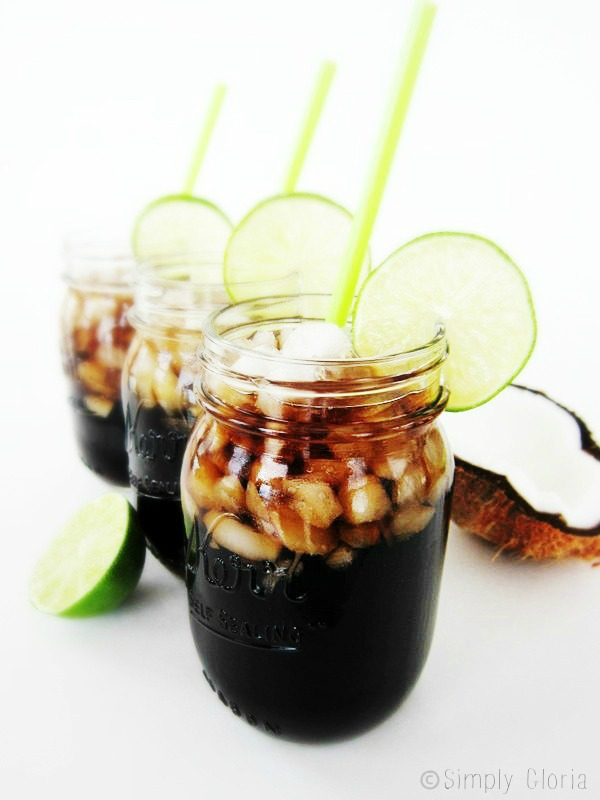 Dirty Dr. Pepper by SimplyGloria.com #DirtyDrinks