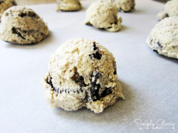 Oreo Pudding Cookies - SimplyGloria.com #cookies