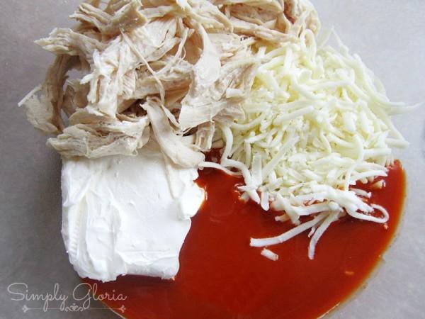 Buffalo Chicken Lasagna Roll Ups3