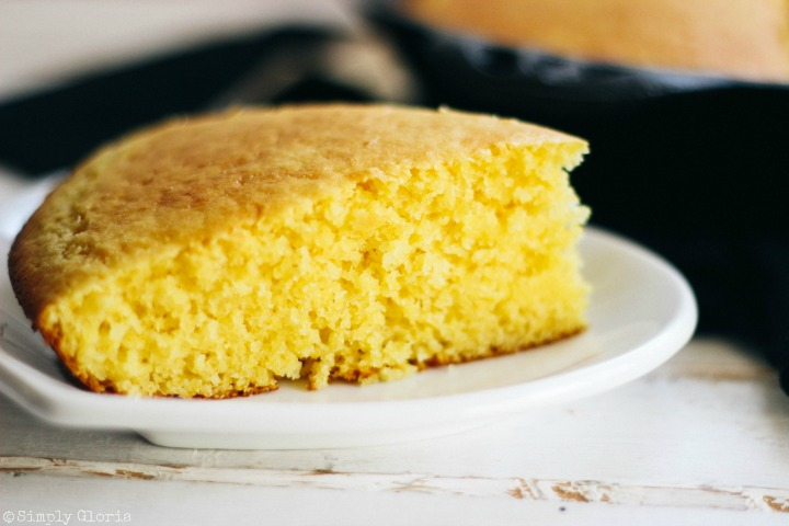 Super moist and tender #cornbread made with the simplest ingredients!