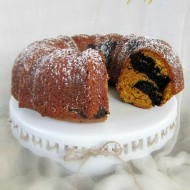 Chocolate Swirl Pumpkin Bundt Cake