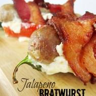 Jalapeno Bratwurst Poppers