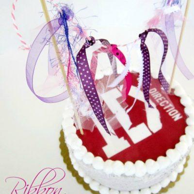Ribbon Cake Banner