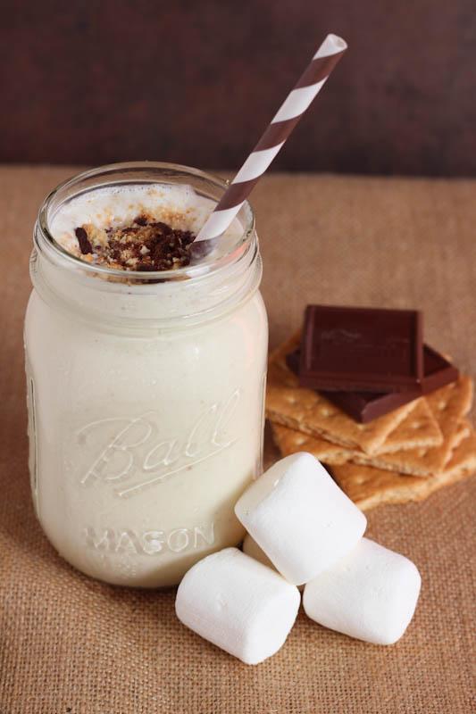 Smores Milk Shake