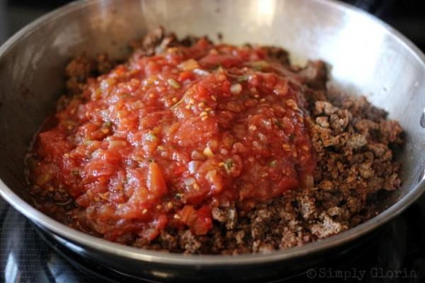20 Minute Chili Ingredients2 @ SimplyGloria.com