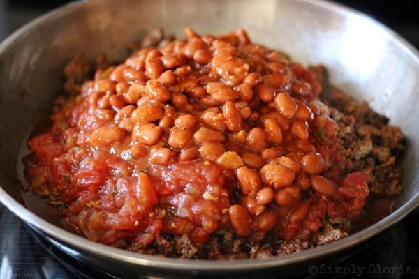 20 Minute Chili Ingredients3 @ SimplyGloria.com
