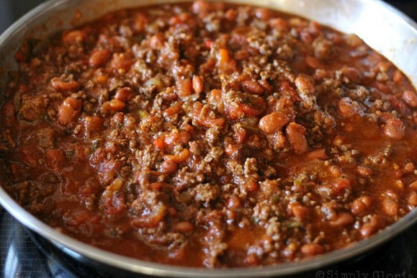 20 Minute Chili Ingredients4 @ SimplyGloria.com