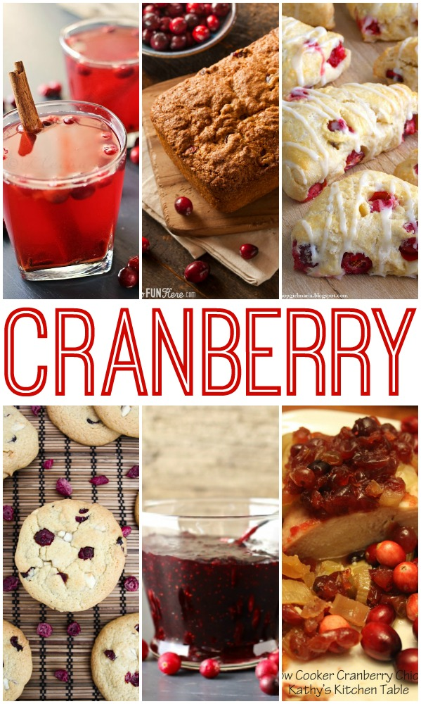 Amazing Cranberry Recipes! #cranberry