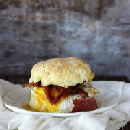 Breakfast Biscuit Sandwich