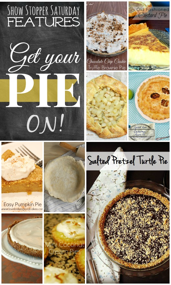#PIE Features from the Show Stopper Saturday Link Party