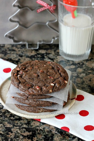 Chocolate-Peppermint-Chip-Cookie