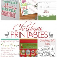 Show Stopper Saturday Link Party, Featuring Christmas Printables