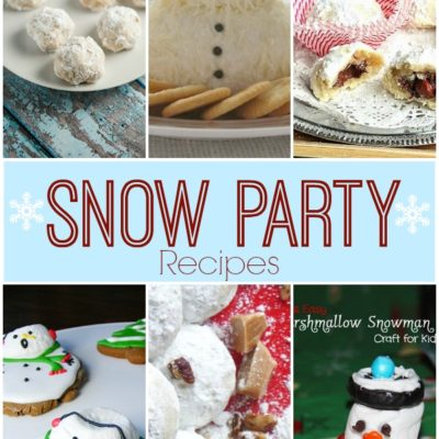 Show Stopper Saturday Link Party, Featuring Snow Party Recipes