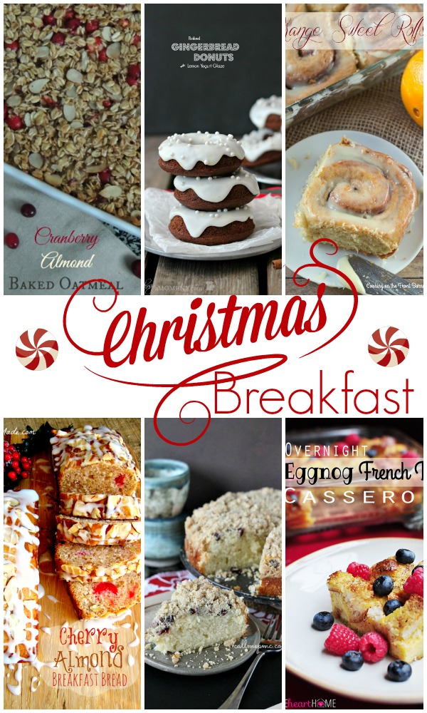 Show Stopper Saturday Featuring Christmas Breakfast Recipes by SimplyGloria.com