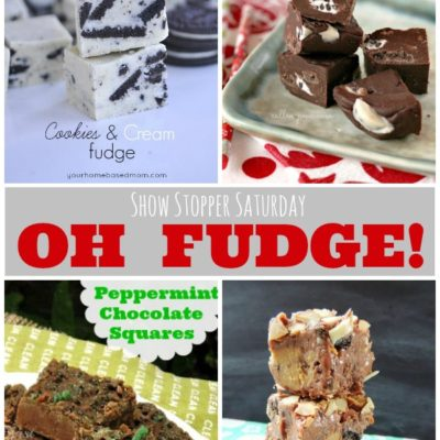 Show Stopper Saturday Link Party Featuring Fudge Recipes