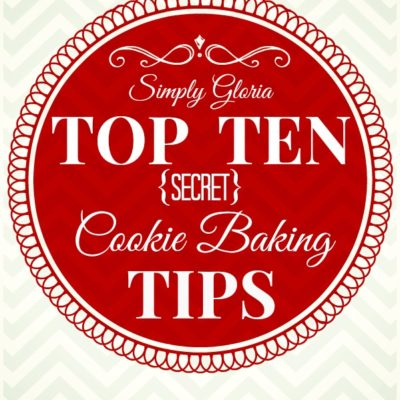 Top Ten Secret Cookie Baking Tips