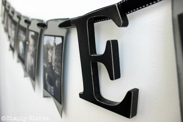 How To Make A Portrait #Banner with SimplyGloria.com #craft