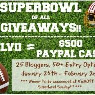 Super Bowl XLVII $500 Paypal Cash Giveaway!!