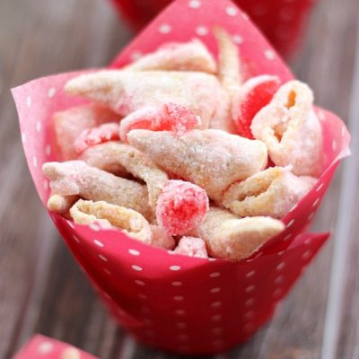 White Chocolate Maraschino Cherry Bugles