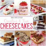 Cheesecakes recipes from Show Stopper Link Party #28 with SimplyGloria.com