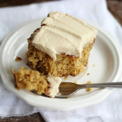 Lazy Daisy Peanut Butter Oatmeal Cake