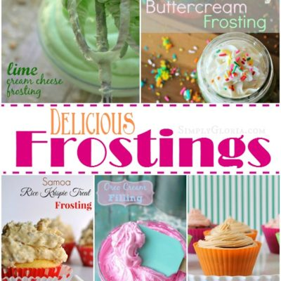 Show Stopper Saturday Link Party, Featuring Frostings!