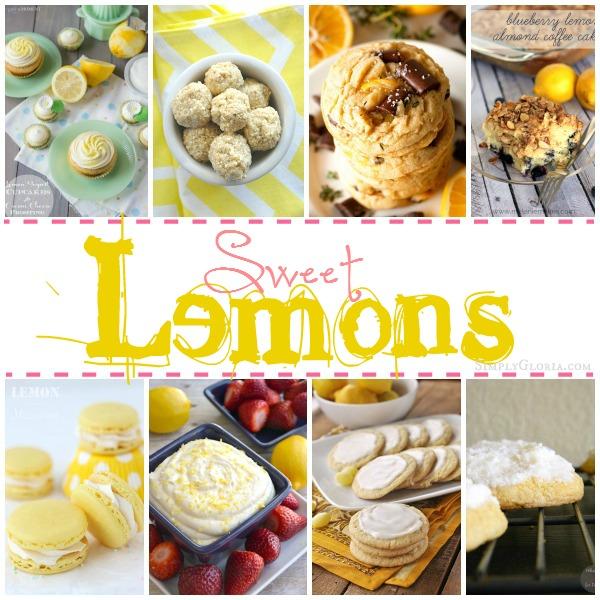 Sugared Lemons Recipes with SimplyGloria.com #lemon