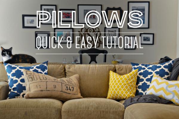pillow tutorial