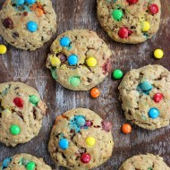 Applesauce Monster Cookies