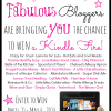 Bloglovin Kindle Fire Giveaway with SimplyGloria.com and friends!