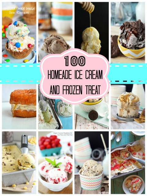 Over 100 Homemade Ice Cream and Frozen Treats with Beyond Frosting